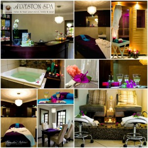 Alveston Spa Collage